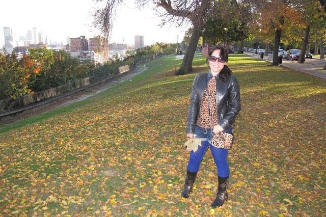 {Outfit} Leopard & Leather