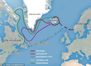 Viking voyages to the New World