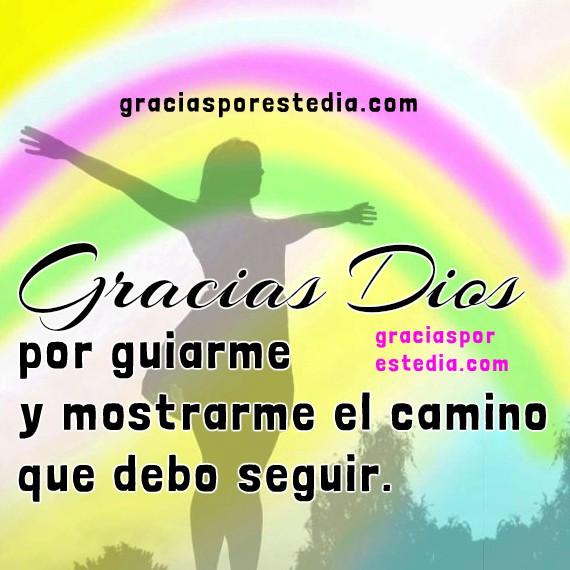 Gracias Dios por este día, corta oración cristiana para la mañana, imagen de gracias a Dios, agradecimiento por el nuevo día con imágenes por Mery Bracho