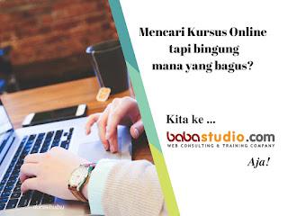 Tempat kursus online terbaik dan terpercaya di Indonesia