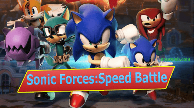 تحميل لعبة Sonic Forces:Speed Battle-apk برابط مباشر للأندرويد