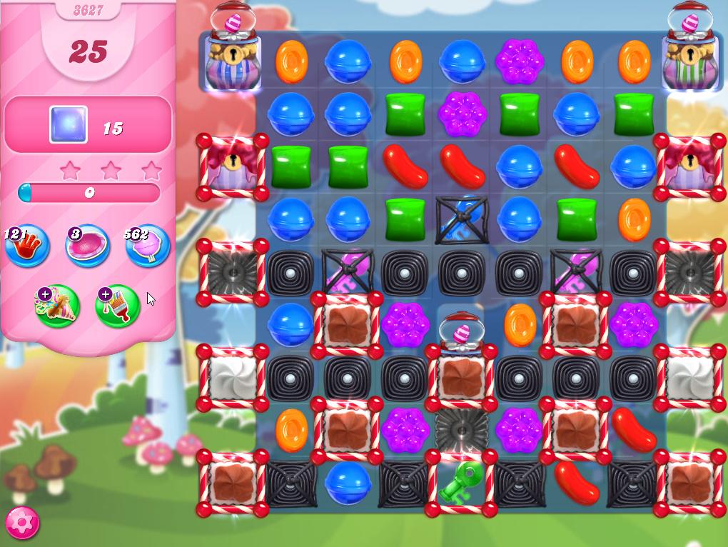 Candy Crush Saga level 3627