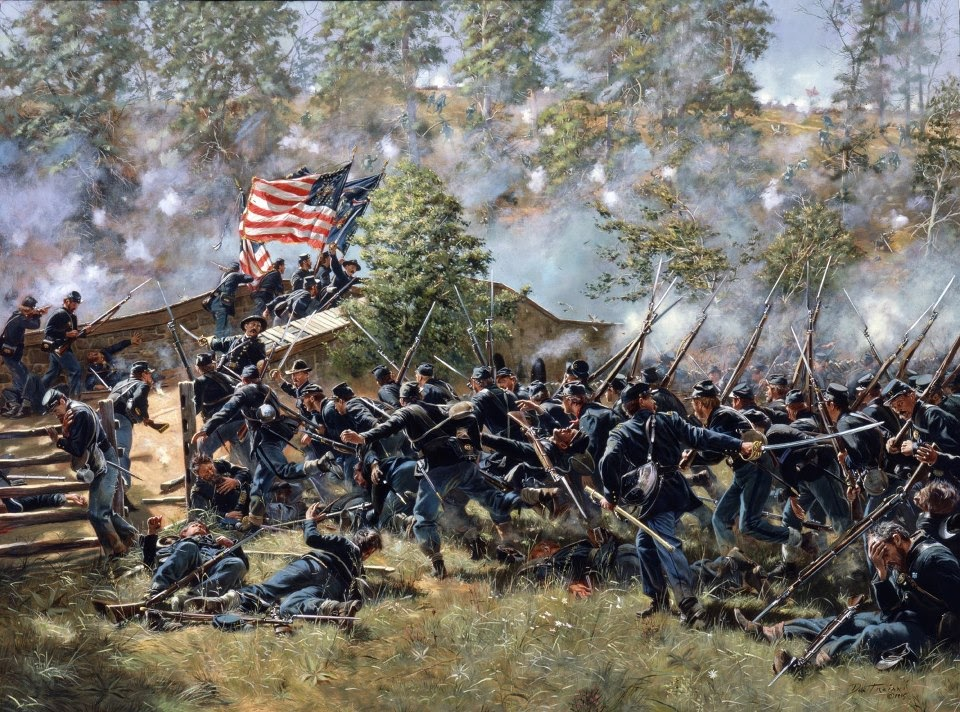 battle of antietam - 736×572