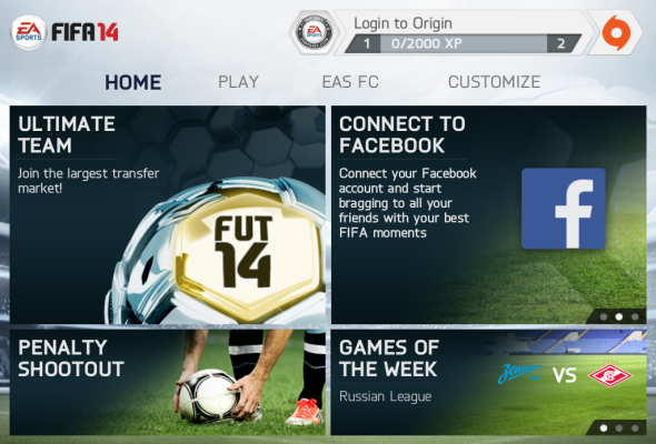 Download fifa 14 android full