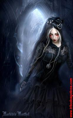 lagrimas goticas triste vestido preto solitaria sozinha sombrio