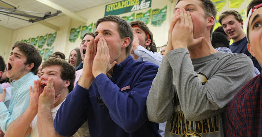 Crossing the line: Can student sections go too far?