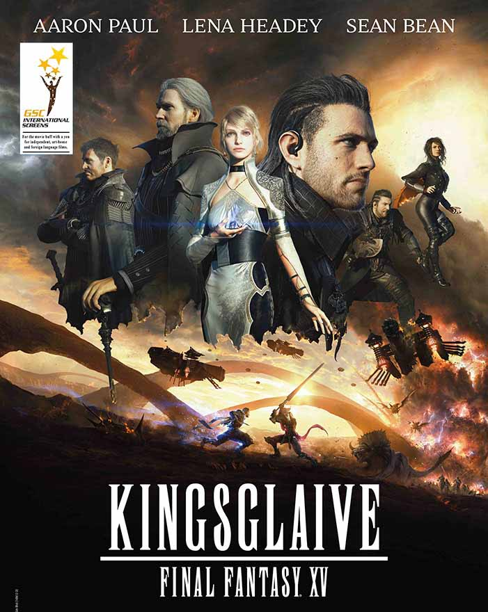 Kingsglaive: Final Fantasy XV Torrent – BluRay 720p e 1080p Dual Áudio (2016)