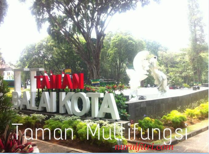 Taman Multifungsi : Taman Balai Kota Bandung
