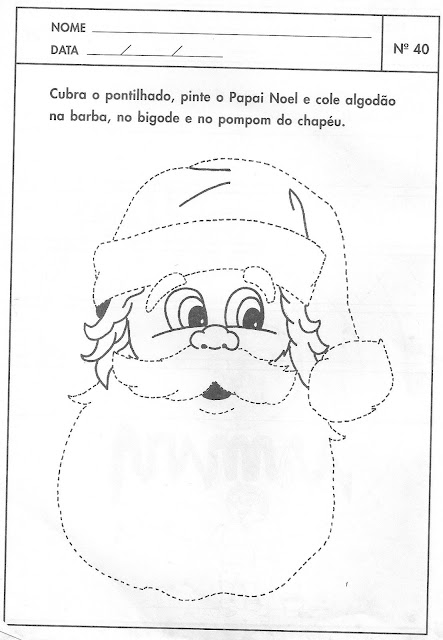 ATIVIDADES DE NATAL PRE I