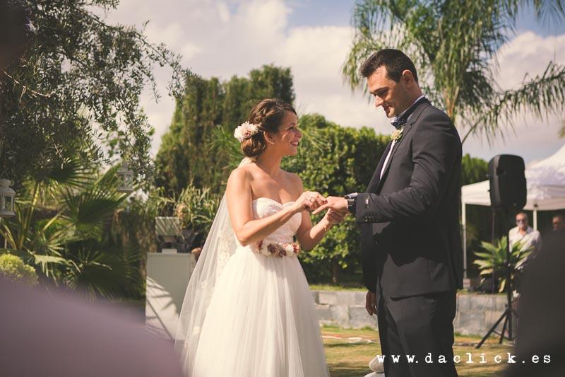 boda intercambio de anillos