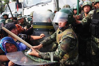 Sebanyak 5.000.000 Muslim Uighur Ditahan Rezim Komunis RRC