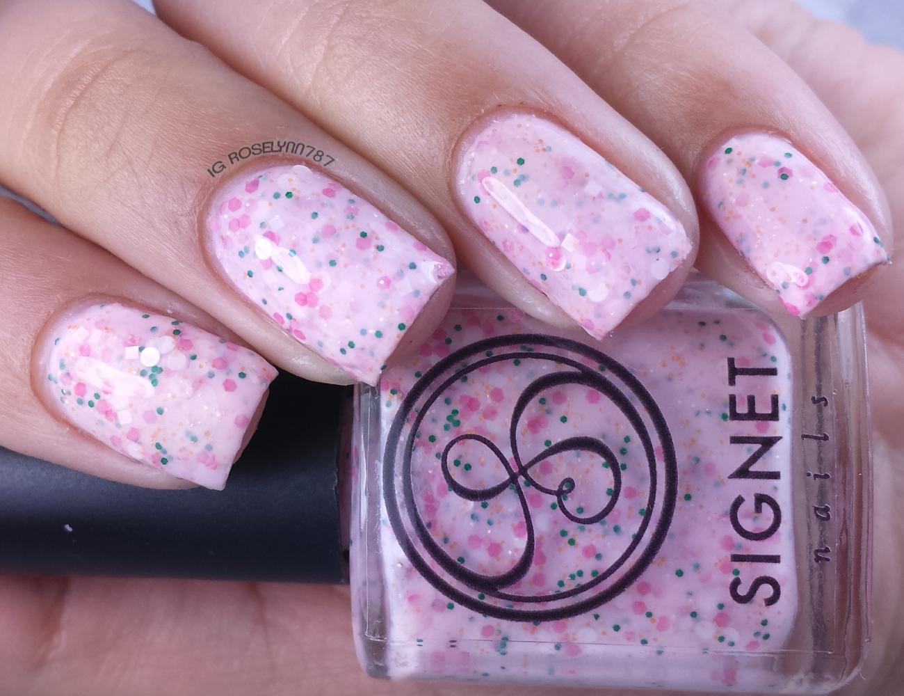 Signet Nails - Sunshine Strawberry