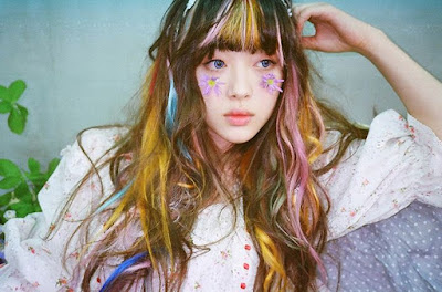 Korean_Girl_Group_Hair_Colors
