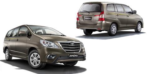 Toyota Innova Limited Edition 2014 Dirilis!