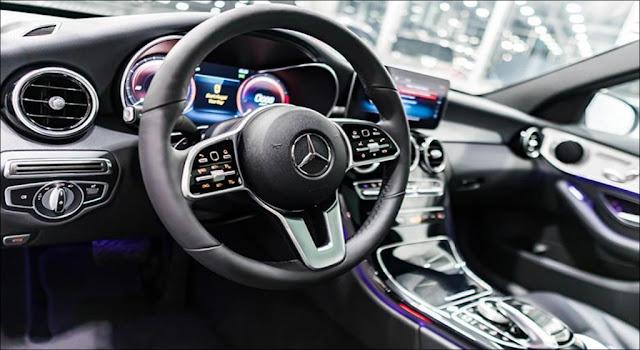 Thiết kế nội thất Mercedes C300 AMG 2019