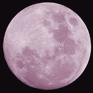 Full Pink Moon Tonight With Partial Lunar Eclipse So What Is A Anyway