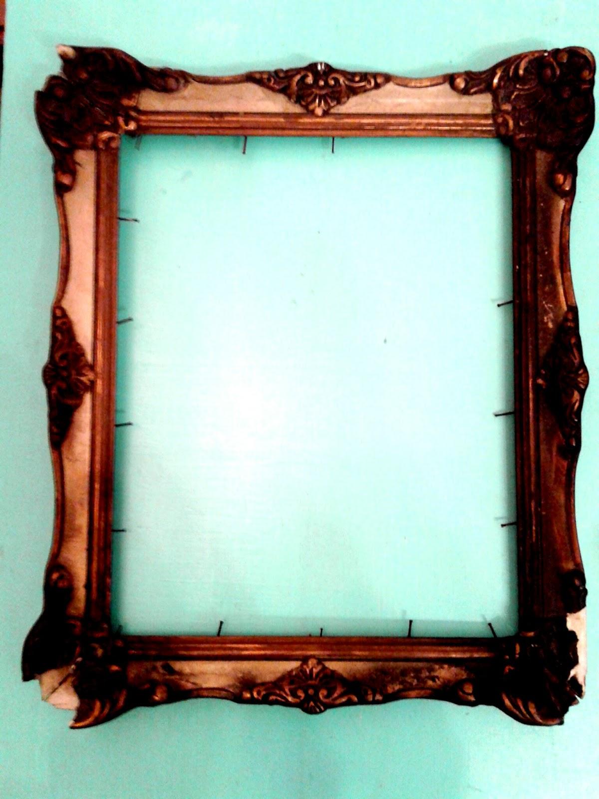 La Bladousse Restauraciones : Se quemó el marco, ahora qué hago?