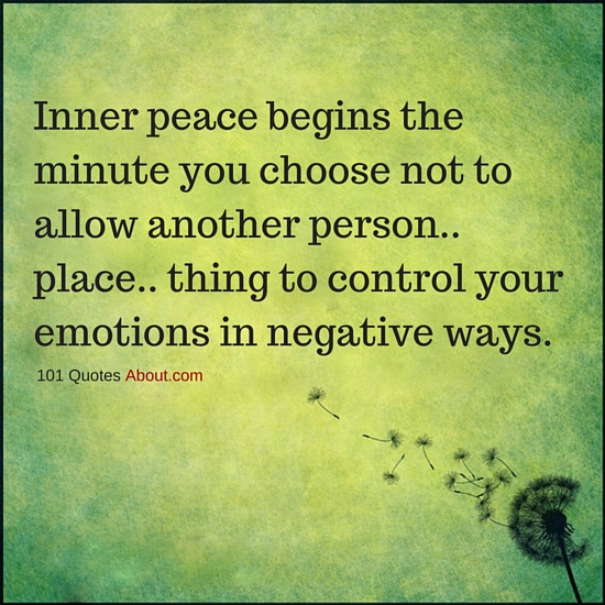 """Inner Peace Quotes"""