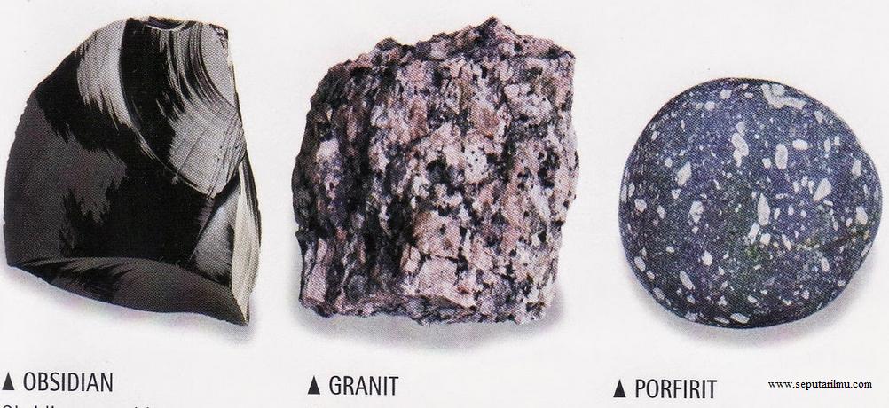 Jenis-Jenis Batuan Pembentuk Kerak Bumi Lengkap