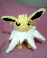 PATRON JOLTEON POKEMON AMIGURUMI 2581