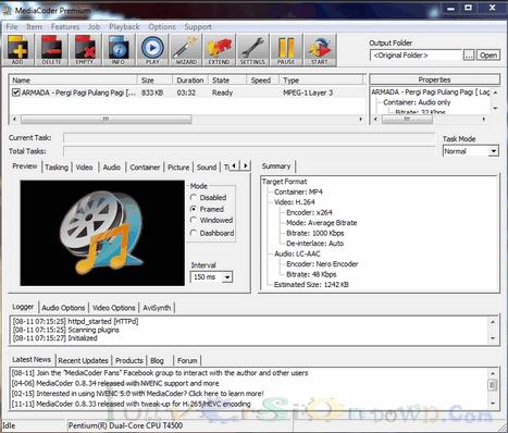 MediaCoder Premium Latest Version