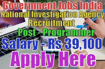 National investigation agency recruitment nia 2017