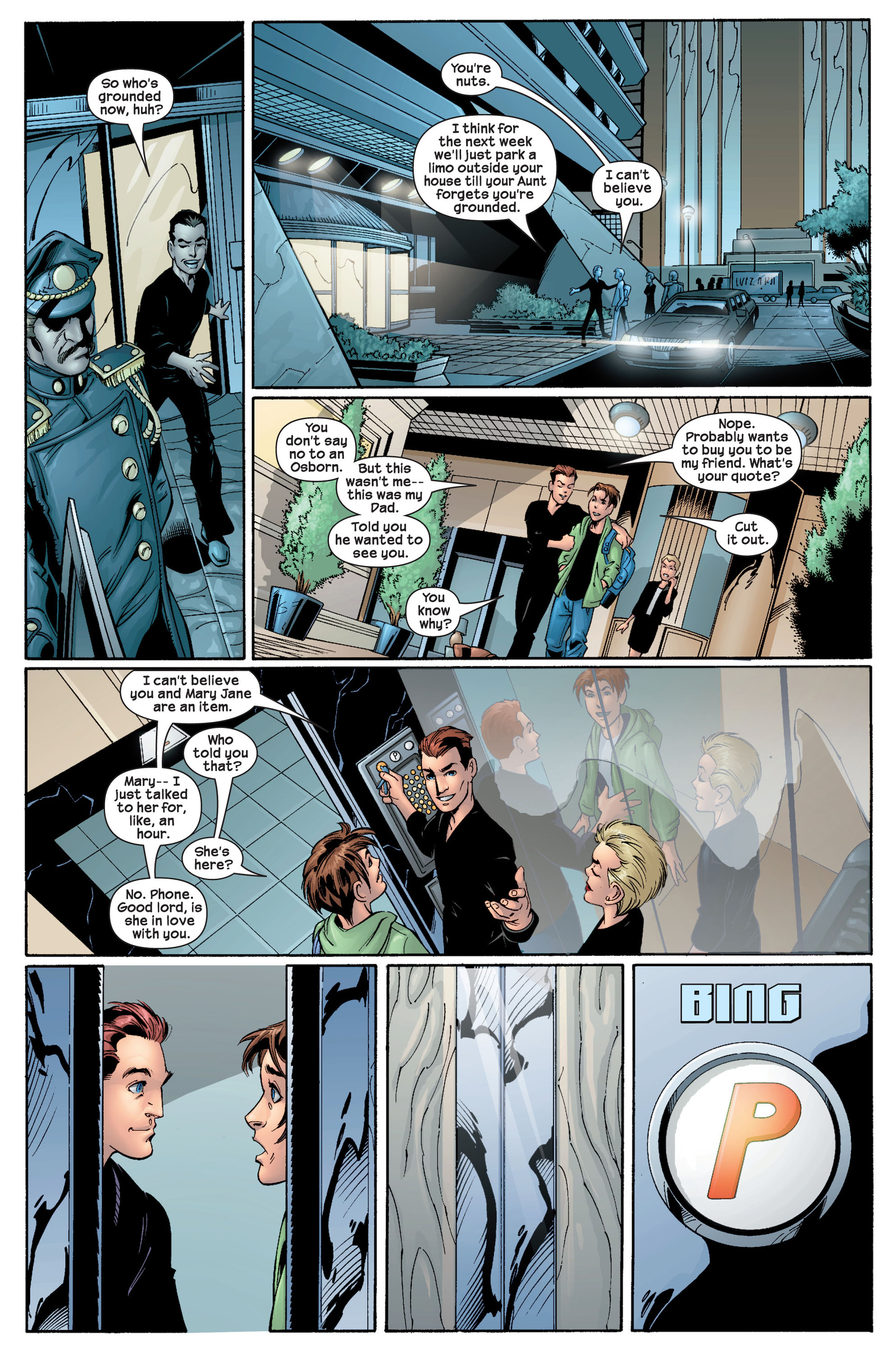 Read online Ultimate Spider-Man (2000) comic -  Issue #22 - 29