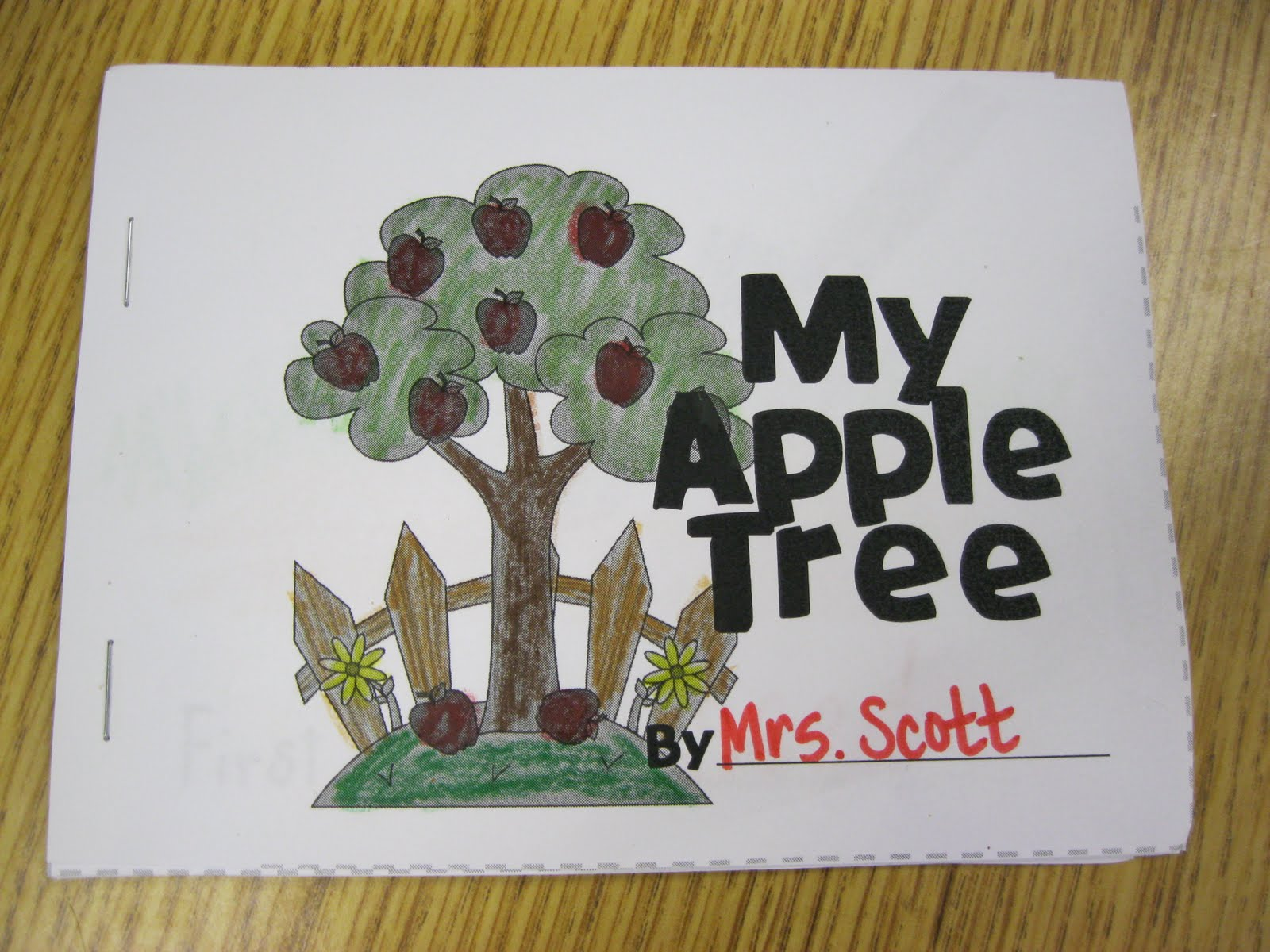 First Grade Fanatics A Week Of Apples