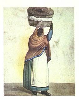 Vendedora de tortas (César Hipólito Bacle).