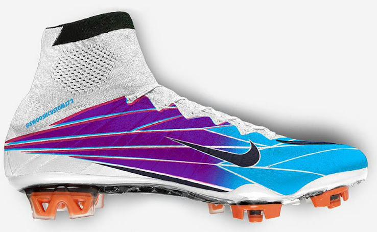 newest 22f70 d5ef1 Nike Mercurial Superfly 'Windchill' Boots by Swoosh Customs ...