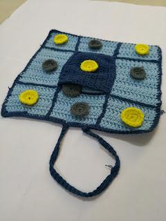 crochet board game