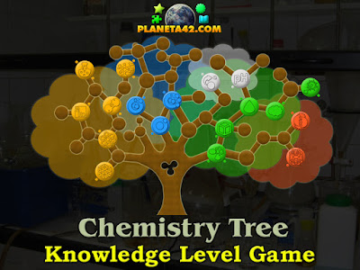 Online Chemistry Tree Game
