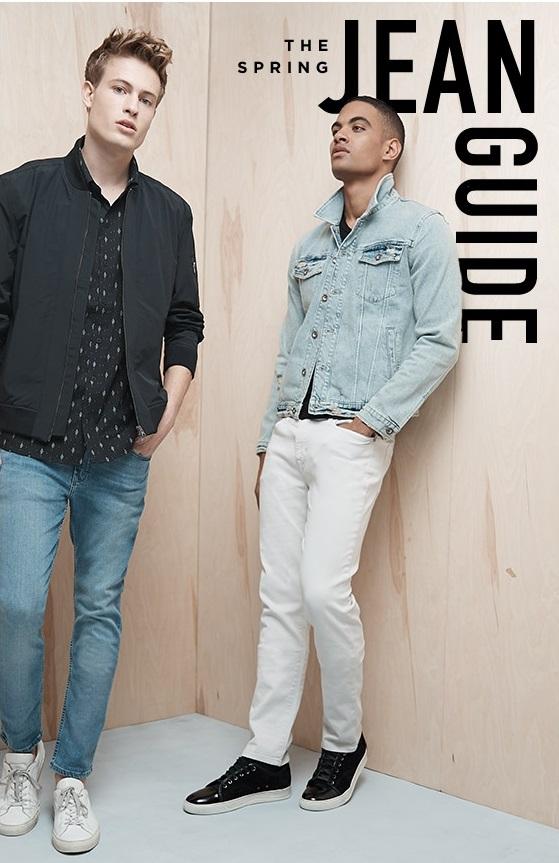 Men's Spring Jeans Guide