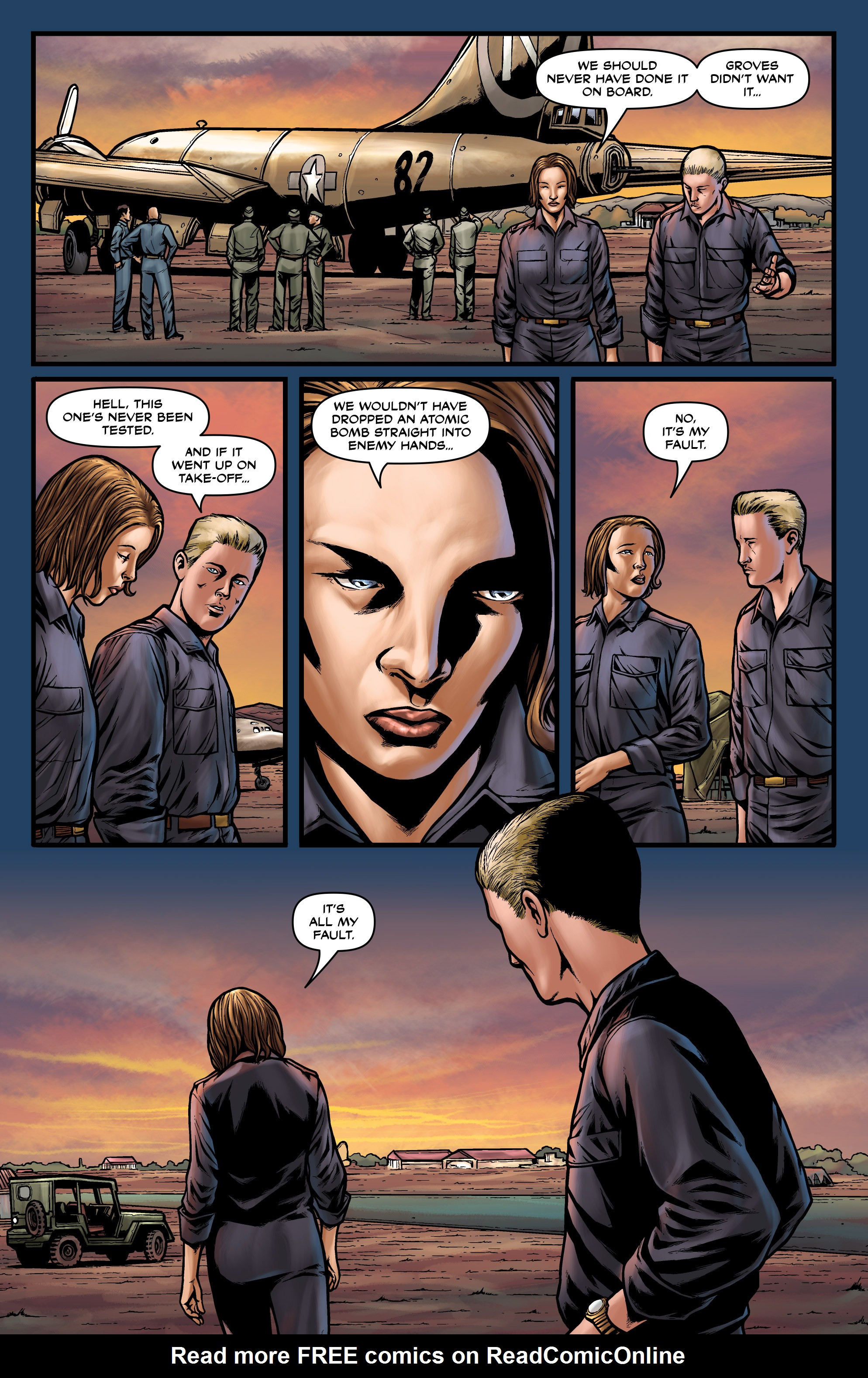 Read online Uber comic -  Issue #18 - 22