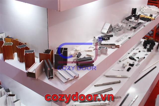 Nhôm cozydoor chính hãng