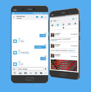 BBM Mod Twitter 3.3.0.16 Apk