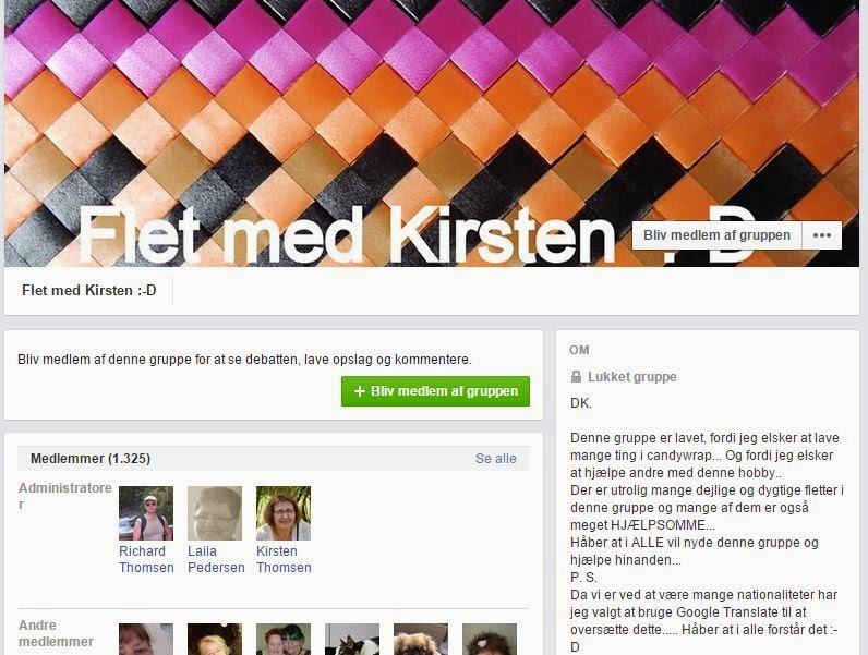 fa7409581e5 Flet med Kirsten en facebook gruppe der hjælper hinanden med candywrapper  spørgsmål.