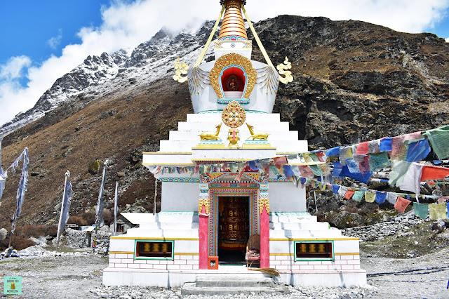 Kyangjin Gompa en Trekking Valle del Langtang, Nepal