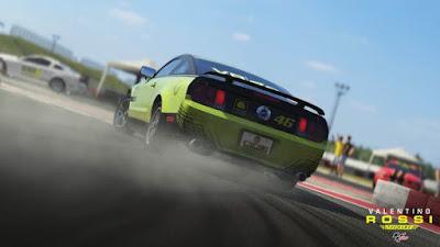 اختيارات في العبة سباقات الرائعة و المدهشة Valentino Rossi The Game