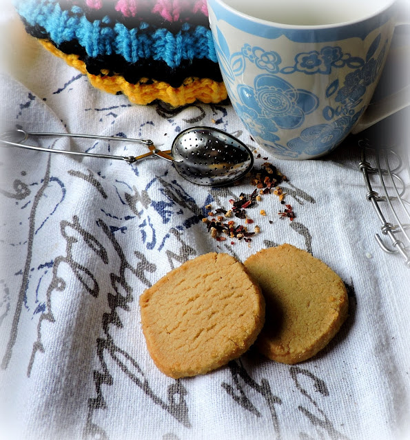 Slice & Bake Coffee Shortbreads
