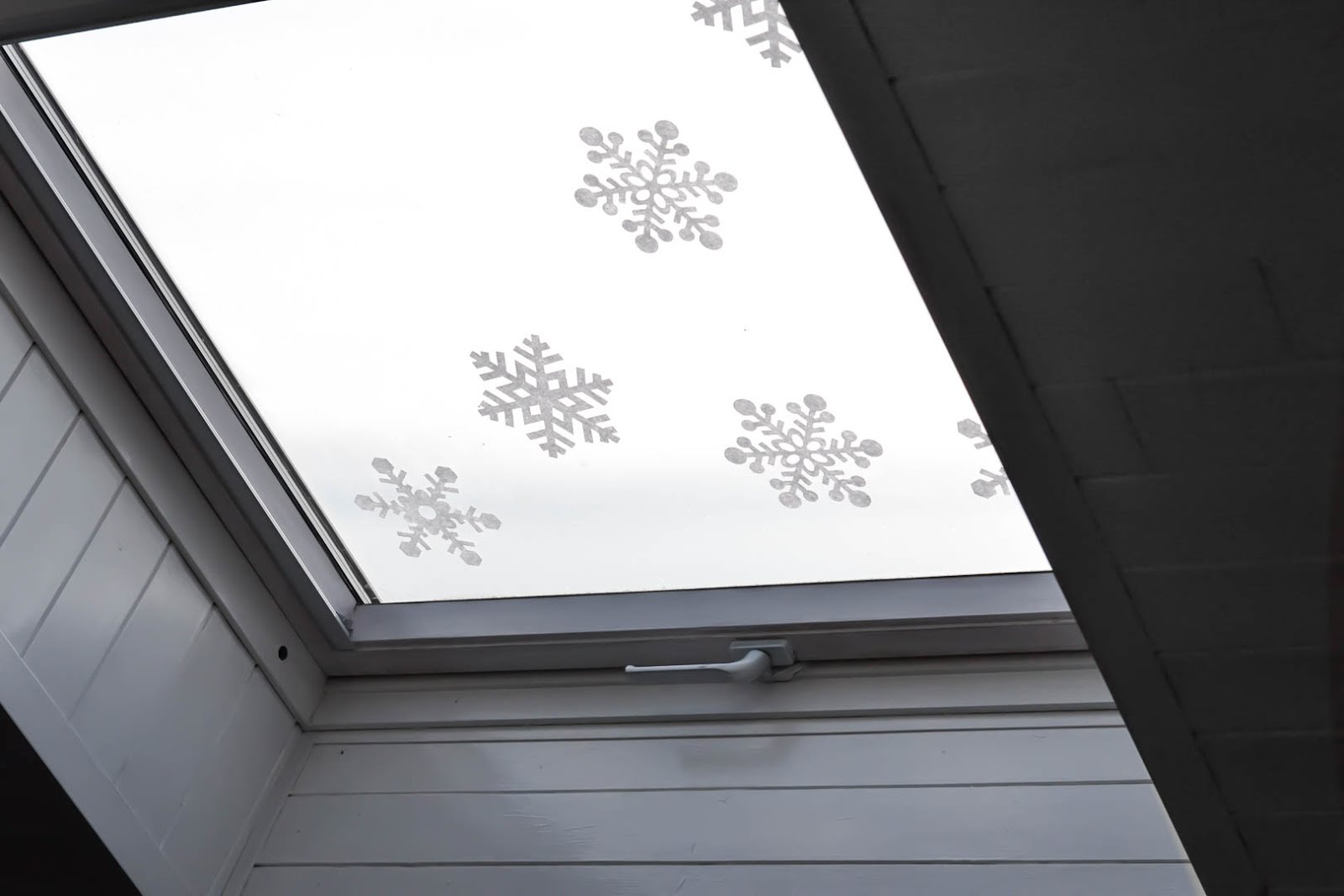 Velux, christmas, window sticker, snowflake, blokker, raamstickers, sneeuw, dakraam, kerstmis