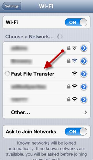 Transfer File Android Ke iPhone
