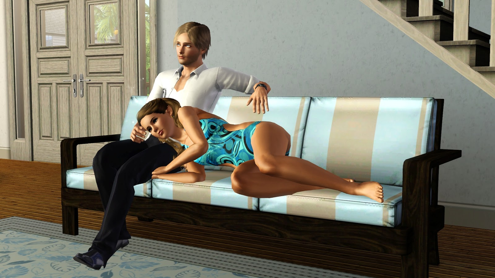I Want To Cuddle With You Quotes: Jamee's Sims 3: Emily And Chris Start Over