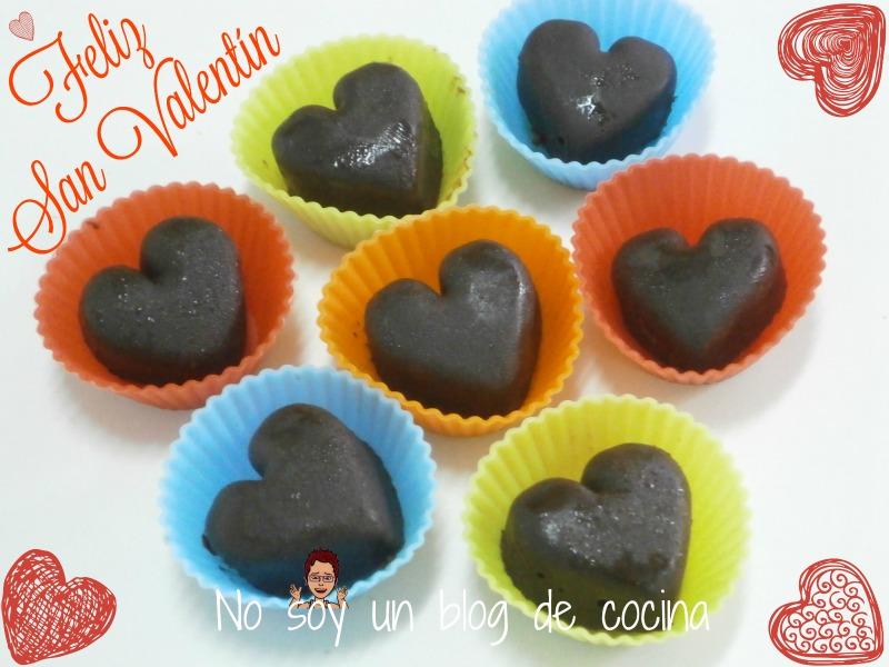 BOMBONES de CHOCOLATE AL COINTREAU