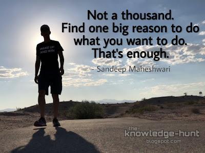 Sandeep Maheshwari Quotes | The Knowledge Hunt