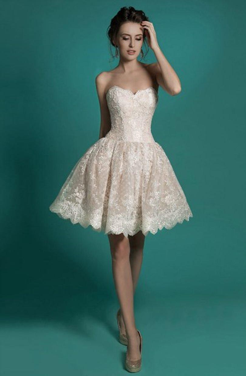 Vestidos de novia por el civil ¡15 Lindas Opciones con Imágenes ...