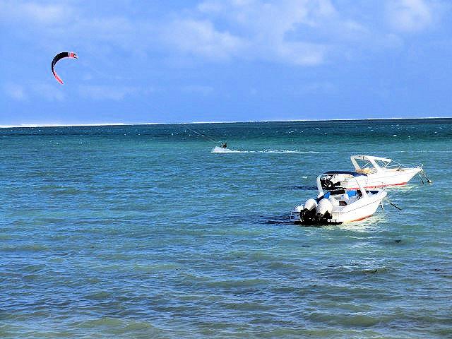 Kitesurfen Mauritius (C) JUREBU