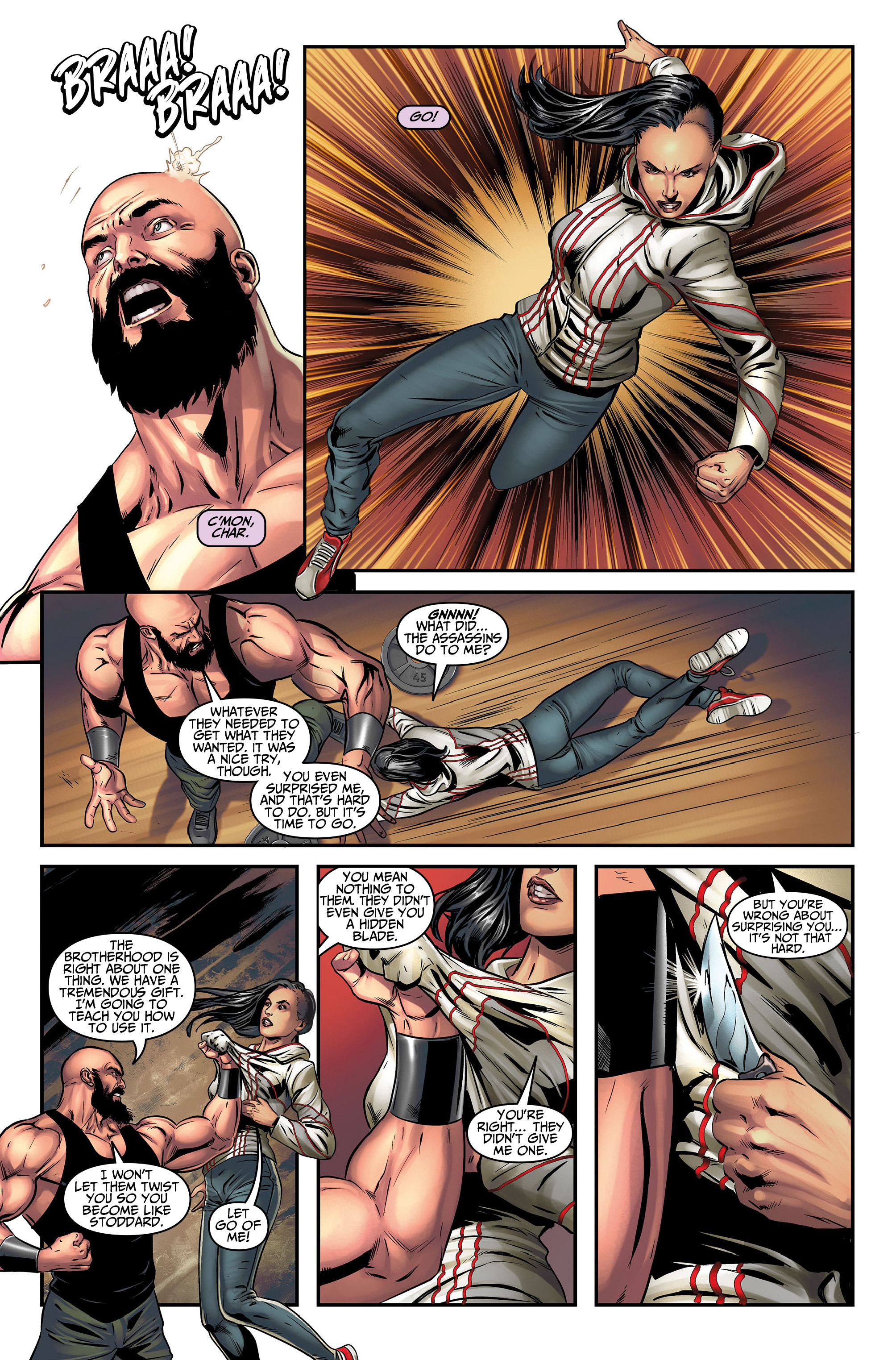 Read online Assassin's Creed (2015) comic -  Issue #5 - 19