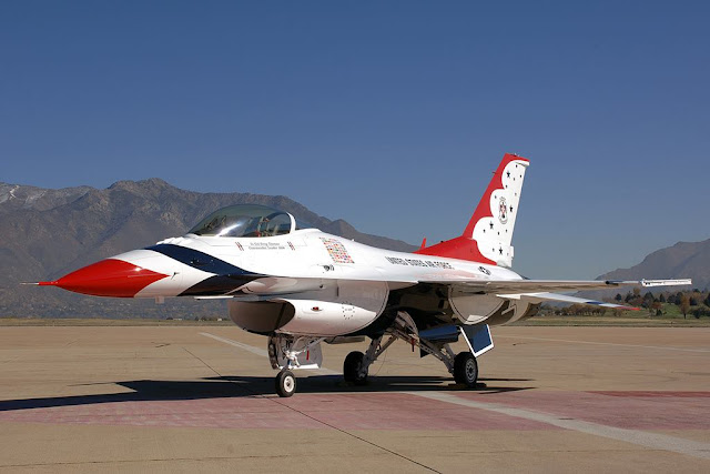 Thunderbird F-16 service life extension