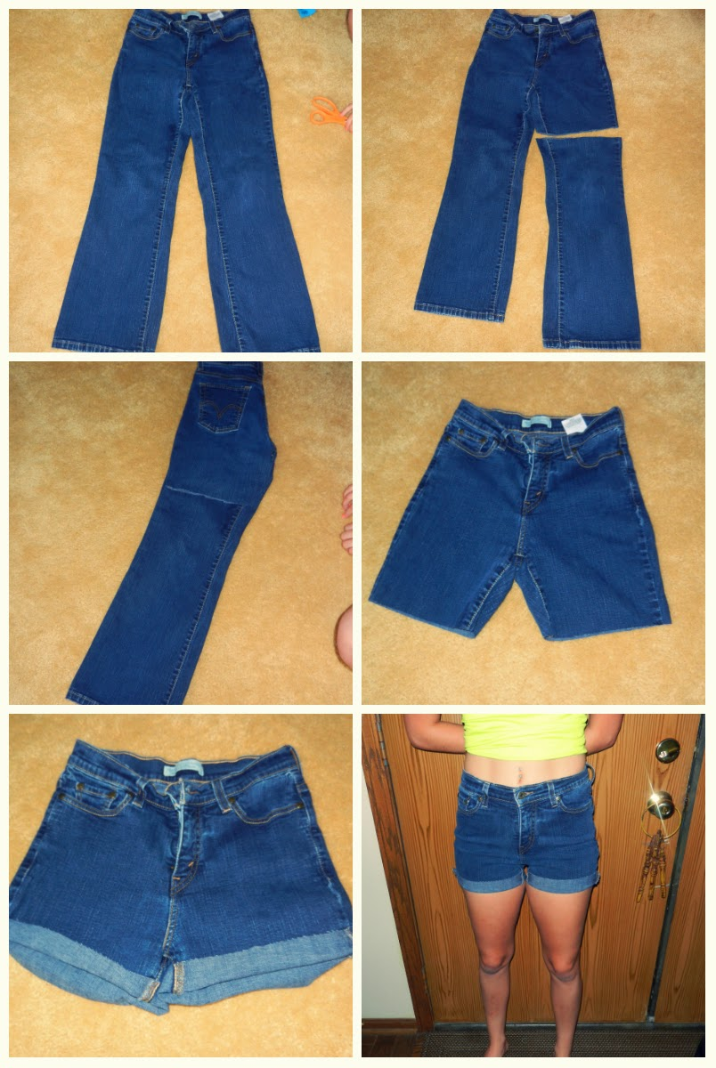 bffe6cde4 Rylee's Corner : DIY High Waisted Shorts